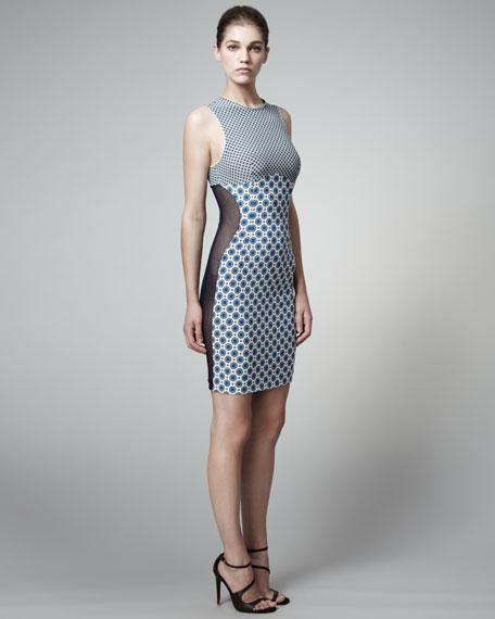 Octavia Printed Sheath Dress