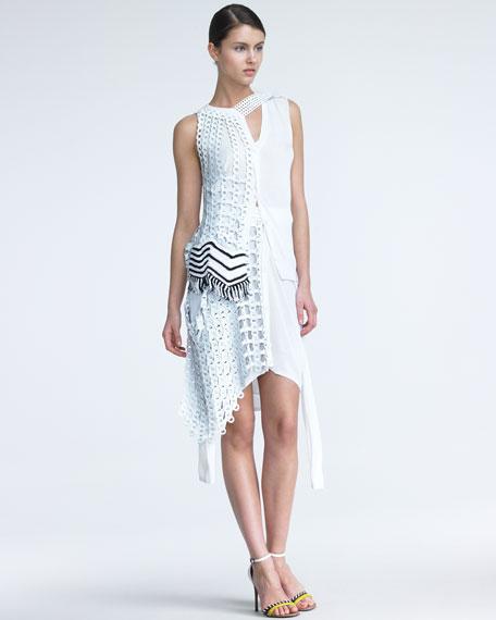 Chain-Link Combo Skirt
