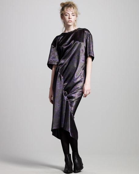Twisted Satin Dress