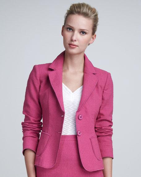 Tweed Suit Jacket