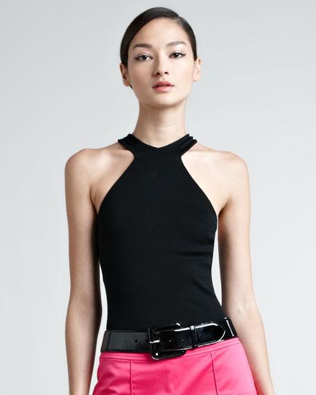 Rachel Cutaway Knit Top