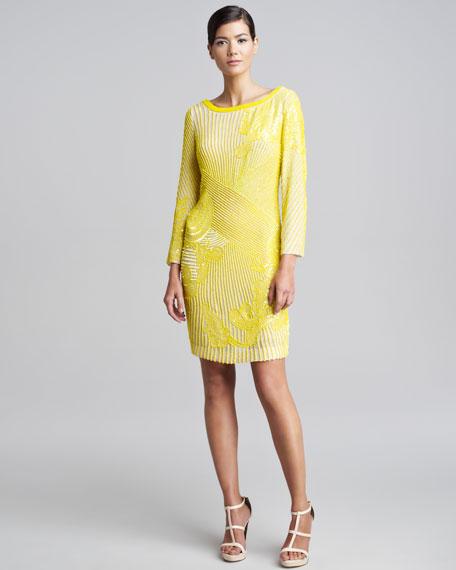 Allover Beaded Dress