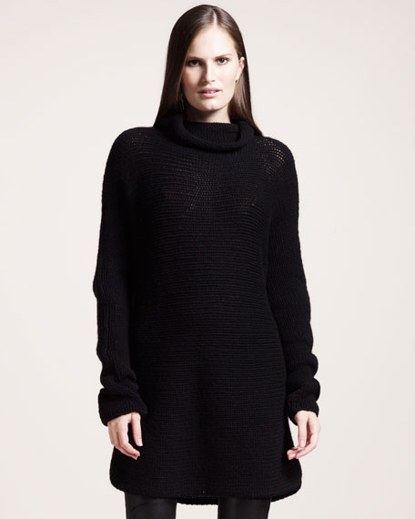 Oversized Cashmere Turtleneck