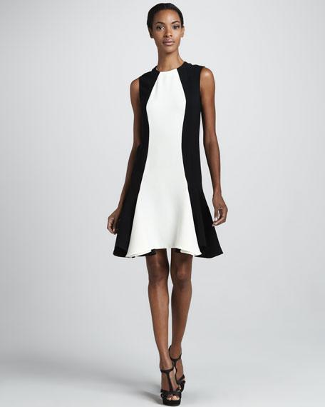 Colorblock Cady Dress