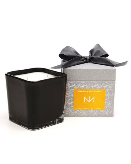 Oakmoss & Myrrh Signature Square Candle