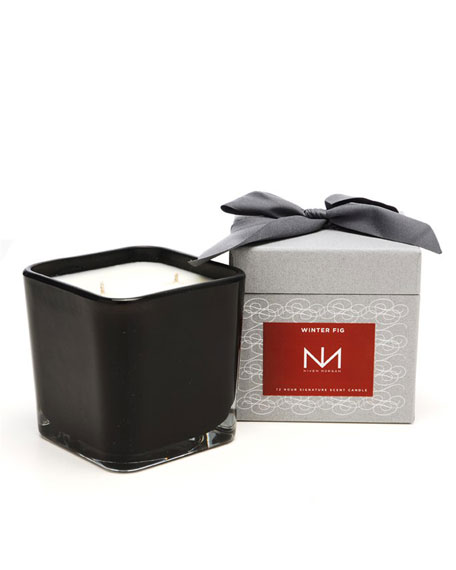 Winter Fig Signature Square Candle