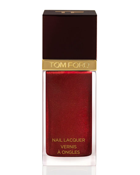 Nail Lacquer, Burnished Rouge