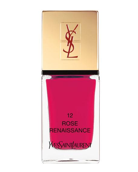Yves Saint Laurent Beaute La Laque No12 Rose Renaissance