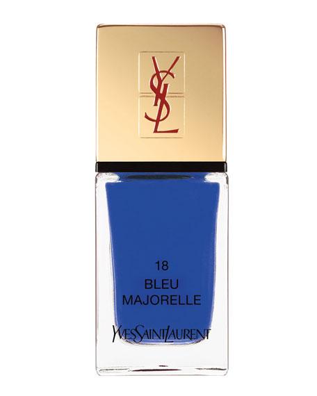 La Laque No18 Bleu Majorelle