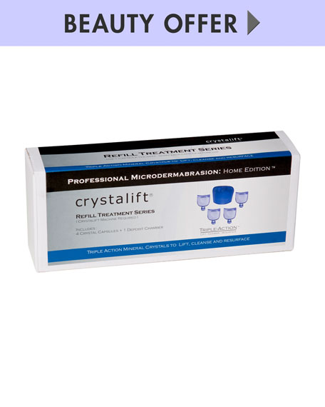 Yours with Any $39.95 Crystalift Purchase