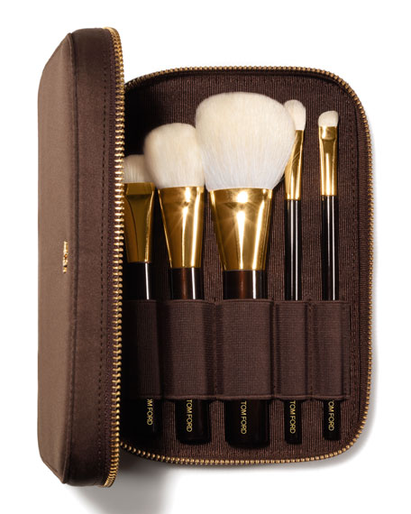 Deluxe Five-Piece Brush Set