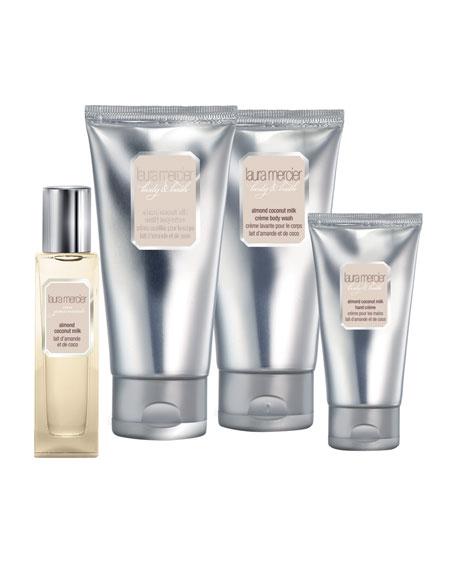 Almond Coconut Milk Body and Bath Quartet