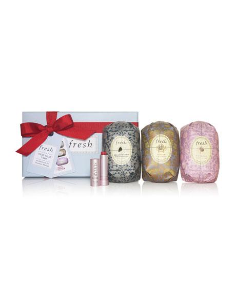 Fresh Oval Soap Trio Gift Set