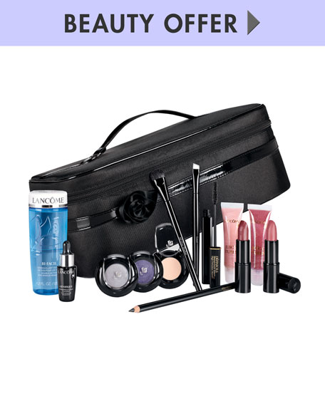 Yours for $59.00 with any Lancome purchase ($300 value)