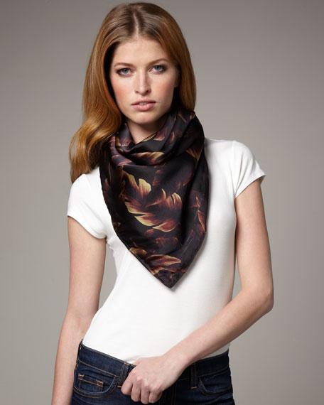 Woven Silk Scarf