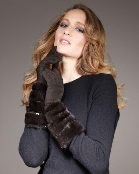 Mink-Suede Gloves