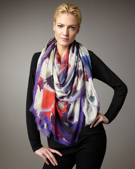 Ava Floral Stole