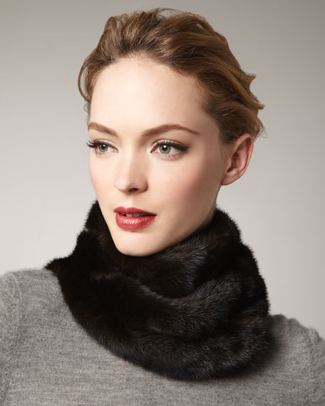 Mink Fur Neck-Warmer