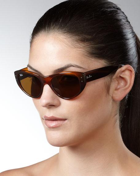 ray ban cat eye sunglasses havana. Black Bedroom Furniture Sets. Home Design Ideas