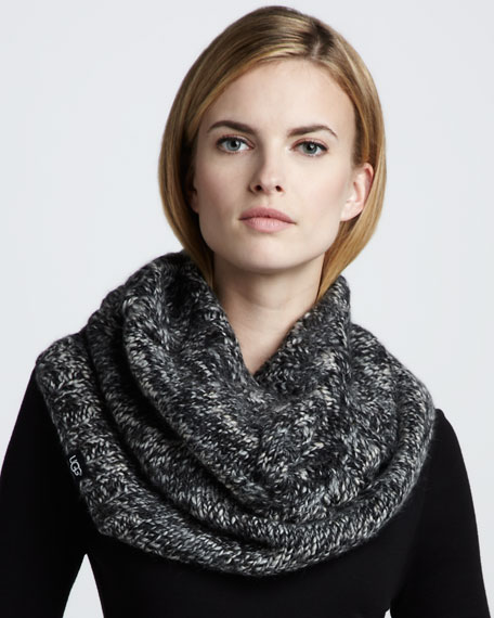 Bococa Knit Snood, Black
