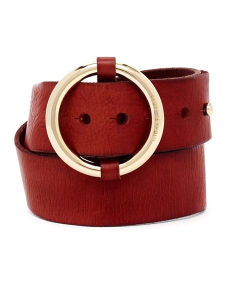 Circle-Buckle Belt