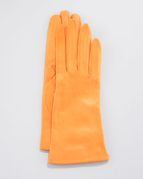 Two-Button Classic Gloves, Honey