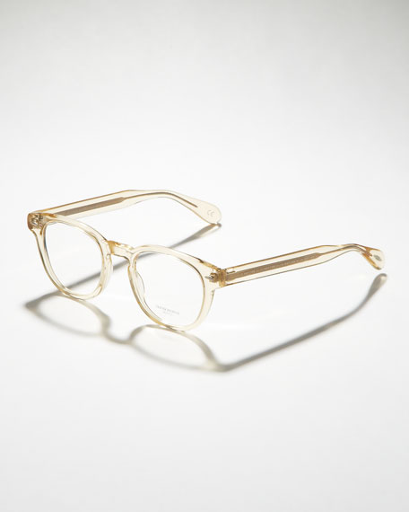 Sheldrake Fashion Glasses, Buff