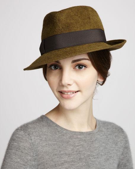 Classic Rabbit Felt Hat