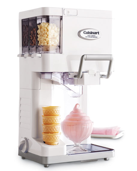 cuisinart soft serve ice cream maker. Black Bedroom Furniture Sets. Home Design Ideas