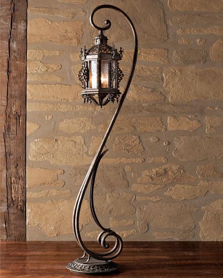 Gothic Floor Lantern
