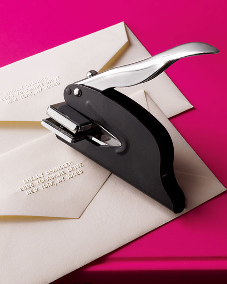 Love this address embosser - only $24!