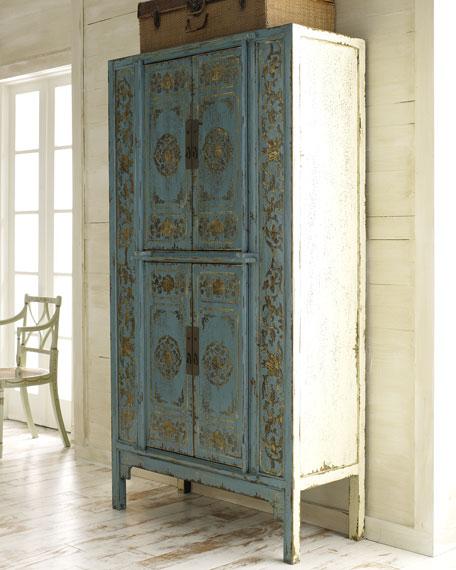 "Aqua ""Double Lotus"" Cabinet"