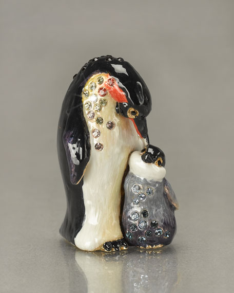 """Marlow and Olive"" Penguins Mini Figurine"