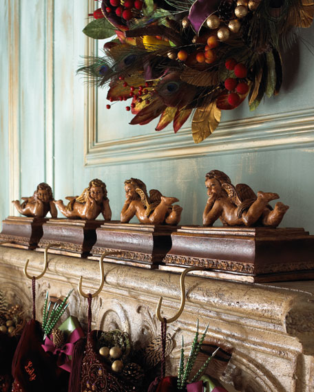 Cherub Stocking Holder