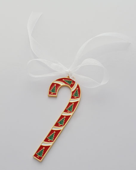 """Candy Cane"" Holiday Ornament"