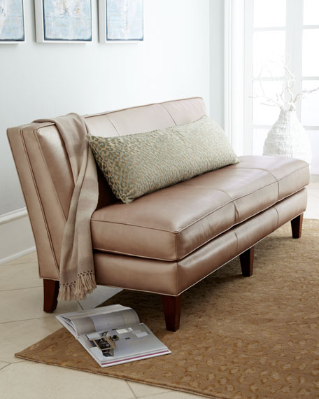 """""""Tallulah"""" Leather Sofa"""
