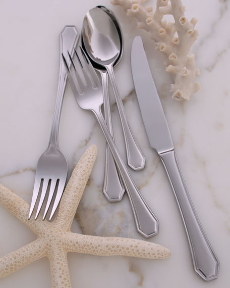 "90-Piece ""Casino"" Flatware"