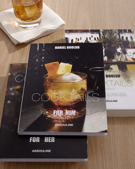 """""""Cocktails & Tapas"""" Book Set"""