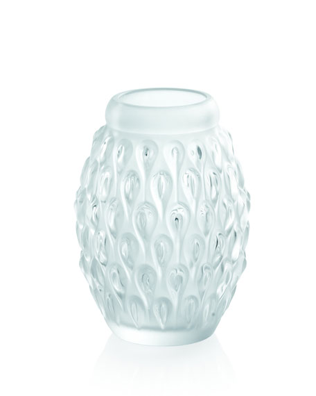 "Clear ""Fiquera"" Vase"