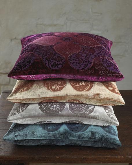 "20""Sq. Persian-Pattern Pillow"