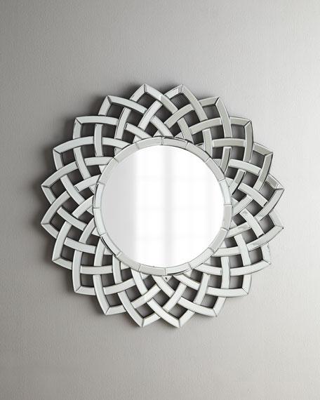 """""""Woven Sunburst"""" Mirror"""