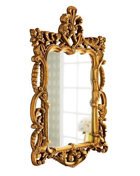 """""""Gold Antoinette"""" Mirror"""