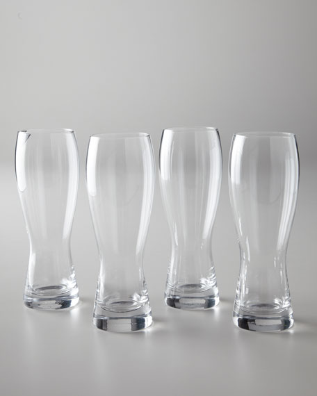 """Four """"Brewmasters"""" Beer Glasses"""