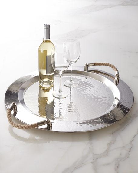 """""""Adriatico"""" Round Tray"""