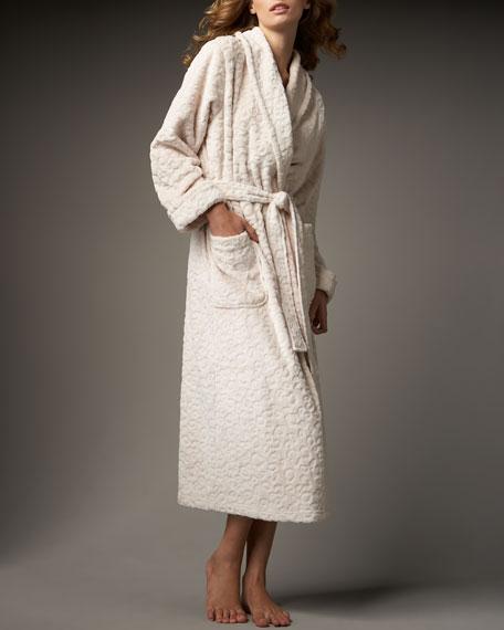 Leopard Plush Robe
