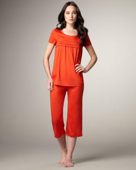 Stella Cropped Pajamas