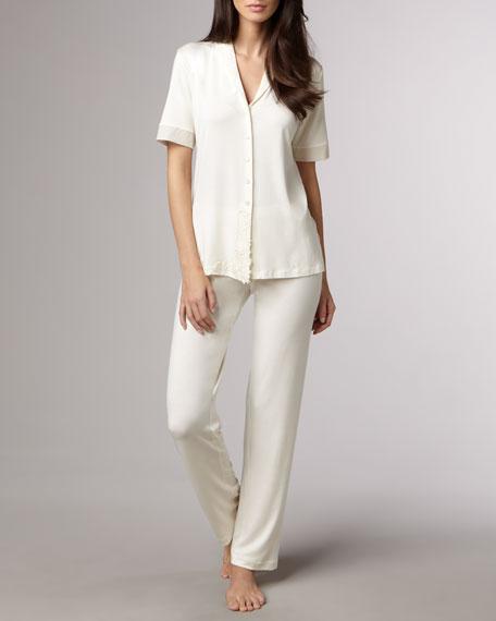 Rayon-Blend Pajamas