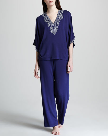 Elegance Embroidered Pajamas