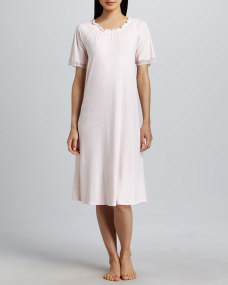 Mimi Short-Sleeve Gown
