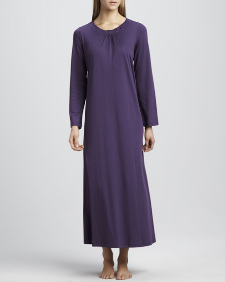 Jasmine Long-Sleeve Gown
